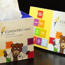 Reusable Tissue Box Sleeve Mailer Marketing Healthcare