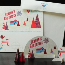 Seasons Greetings Holiday Mailer - Healthcare