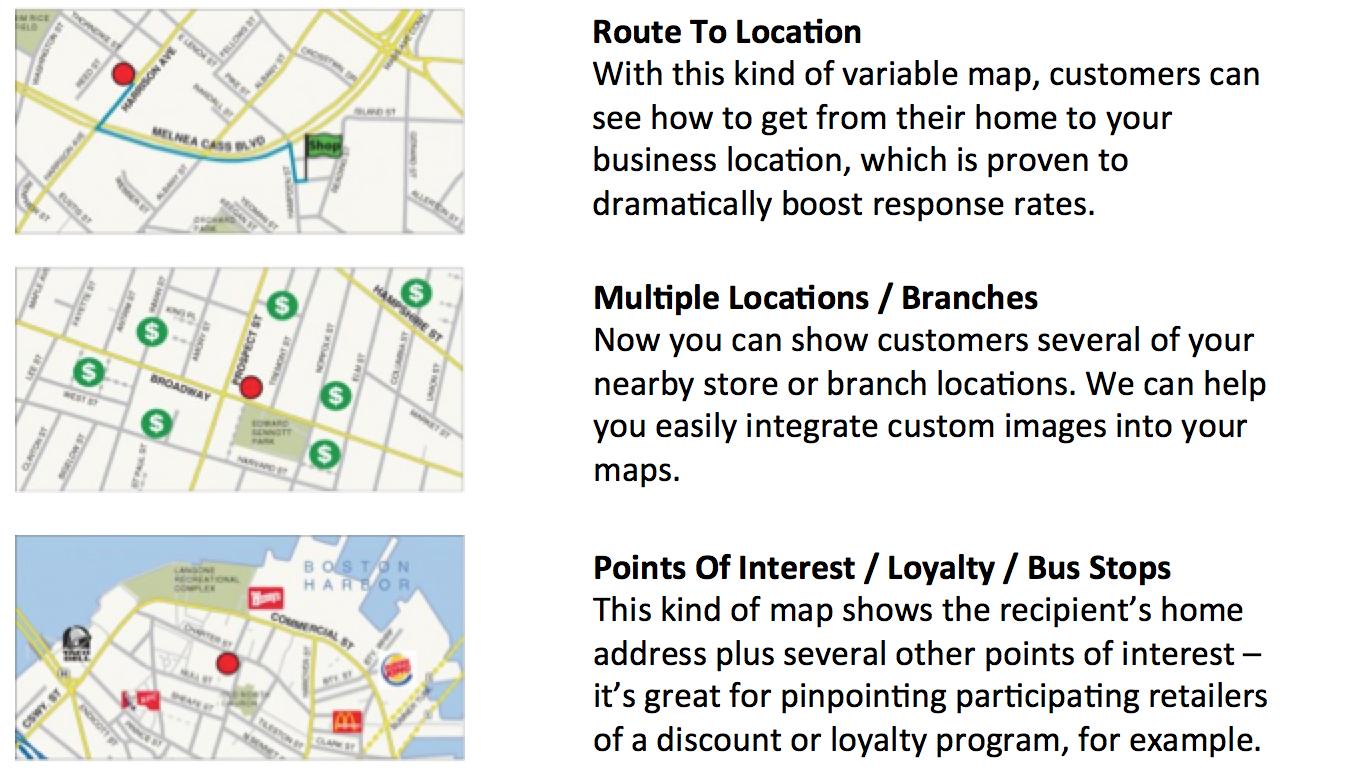 Map Options Donoson Group Marketing And Communication
